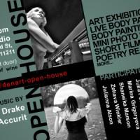 DEN ART open house flyer