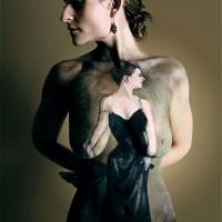 Madame X body painting by Danny Setiawan of DenArt bodyart studio