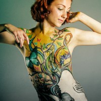 Mother Nature Body painting