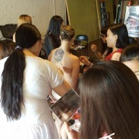 field trip bodypainting class in NY