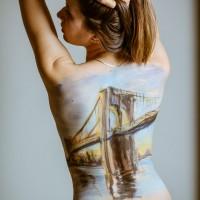 Moscow NY body painting