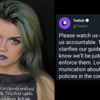 Twitch Streamer Suspended For Body Painting Claims She Didn't Break Rules